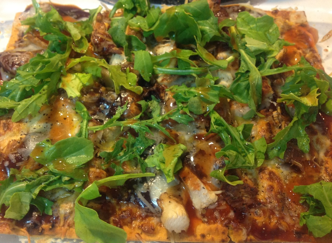 Lazy Gourmet: BBQ Chicken Pizza
