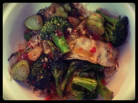 Broccoli stirfry