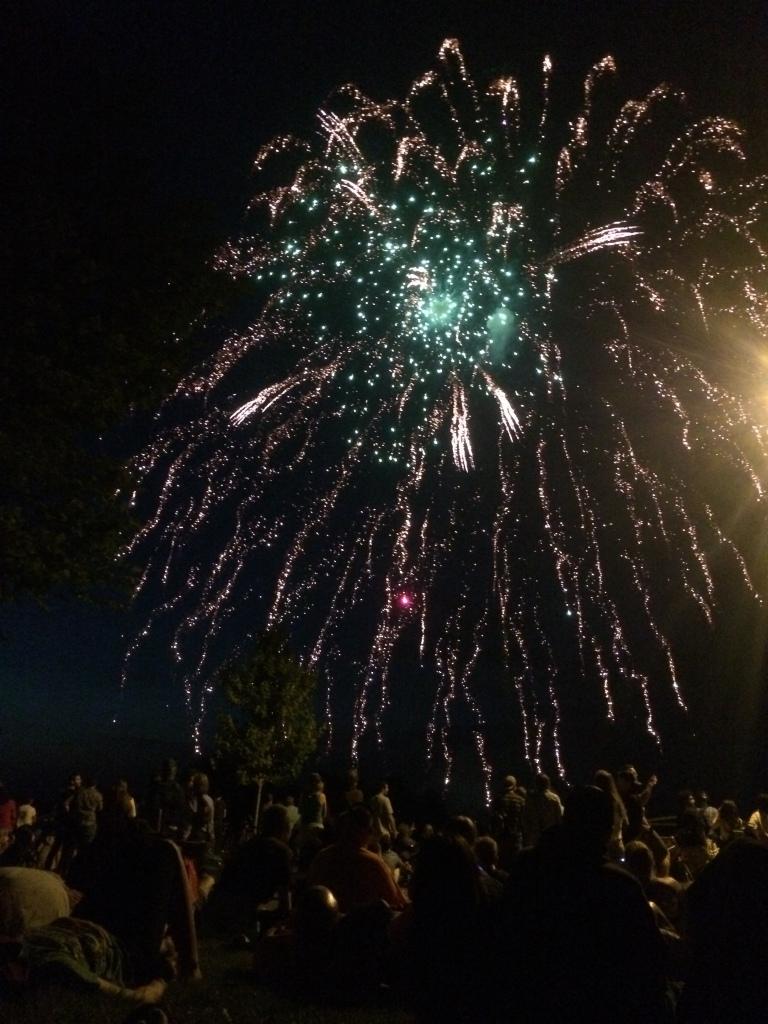 Fireworks in Portland